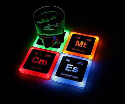 Elements Glowing Coaster Set