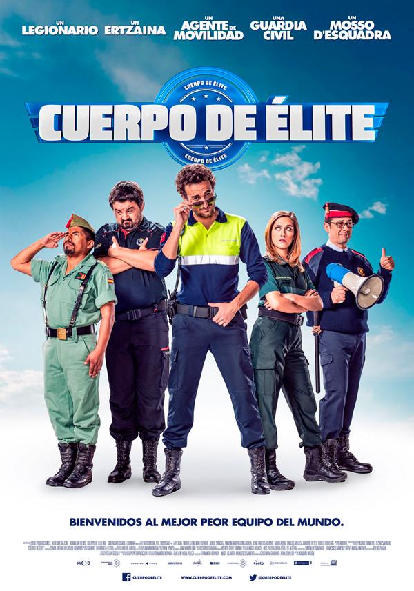 Cartel Cuerpo de elite