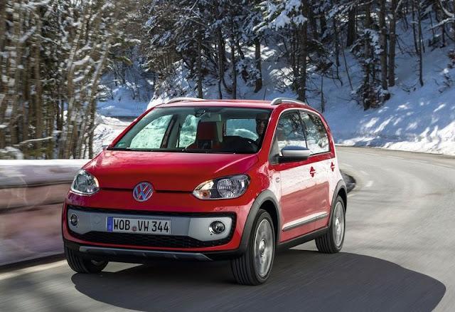 Volkswagen Cross Up Front Angel