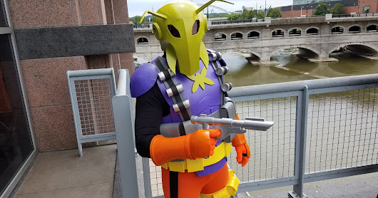 More awesome Killer Moth cosplay