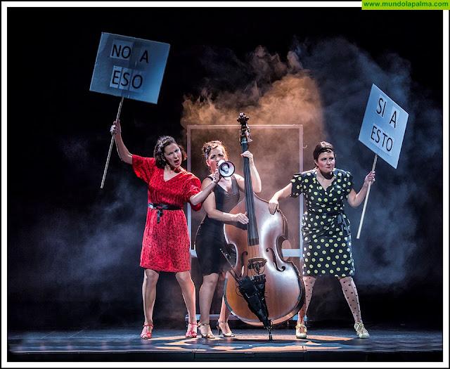 The Funanviolistas reúne música y teatro en una comedia que ofrece diferentes miradas sobre la mujer artista