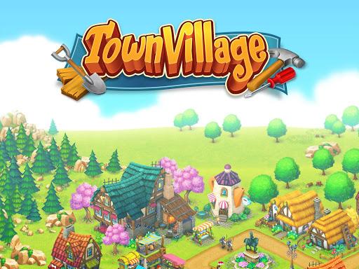 تحميل لعبة Town Village: Farm, Build, Trade, Harvest City v1.7.2 مهكرة للاندرويد جواهر وأموال لا تنتهي