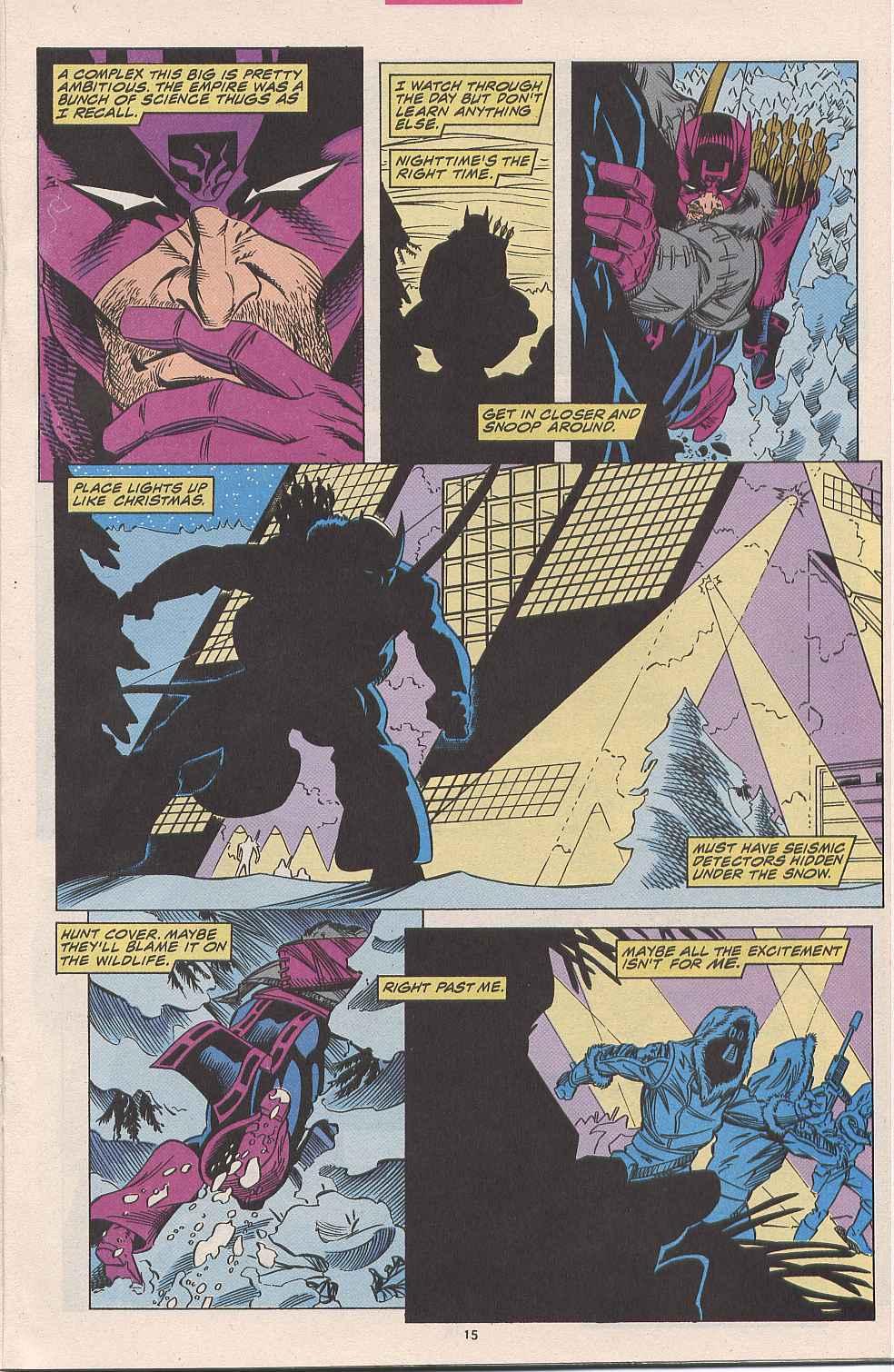 Hawkeye (1994) Issue #1 #1 - English 12