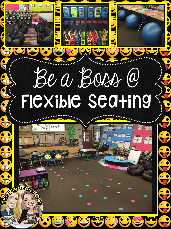Be A Boss At Flexible Seating The Rigorous Owl