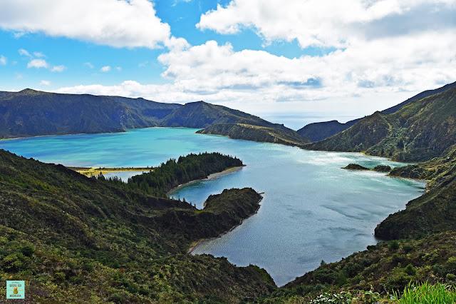 Lagoa do Fogo en Sao Miguel, Azores