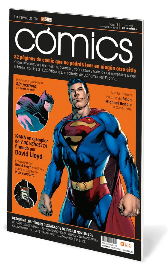 ECC Cómics, la Revista de Cómics de ECC Ediciones