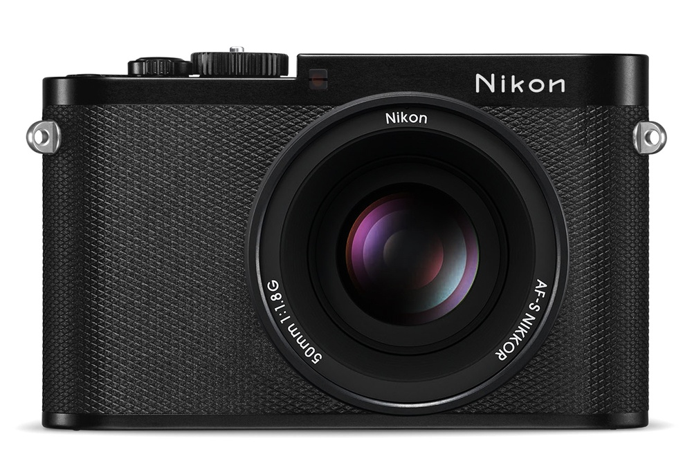 Концепт дизайна беззеркальной камеры Nikon