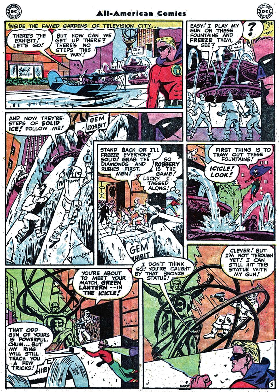Read online All-American Comics (1939) comic -  Issue #90 - 7