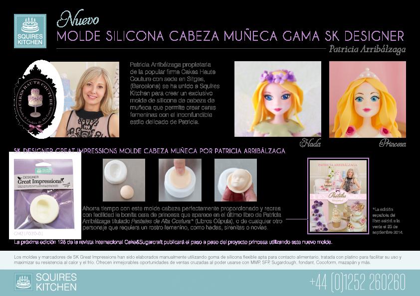 Patricia Arribálzaga molde muñeca
