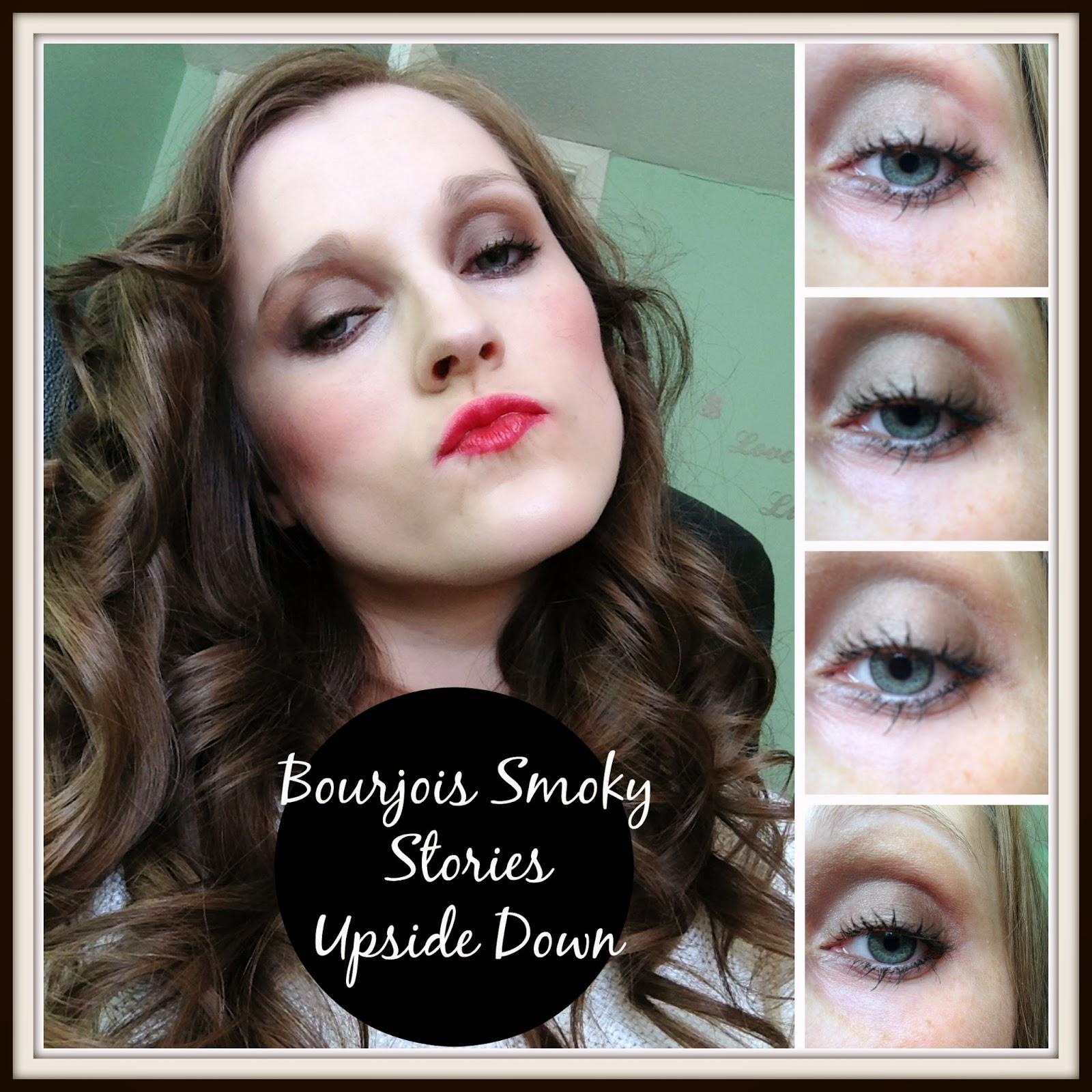 bourjois smokey stories eyeshadow palettes