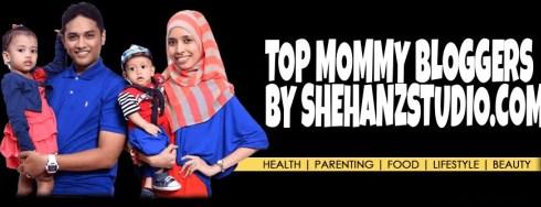 SEGMEN TOP MOMMY BLOGGERS BY SHEHANZSTUDIO.COM