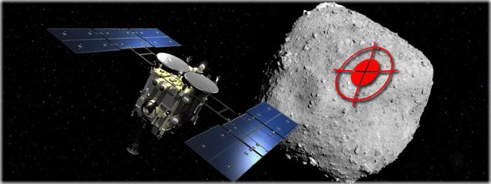 local de pouso asteroide ryugu - hayabusa 2