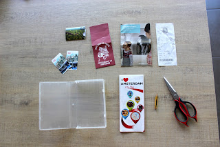 Clothes & Dreams: DIY: Travel keepsake boxes: what you need