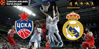 баскетбол ЦСКА – Реал Мадрид смотреть онлайн бесплатно 17 мая 2019 прямая трансляция в 22:00 МСК.