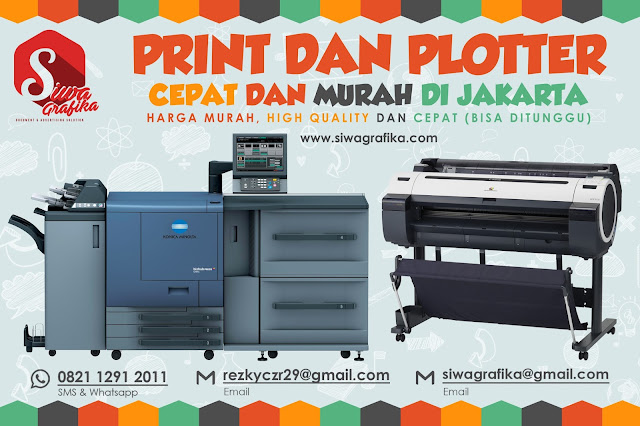 Jasa Print A0, A1, dan A2  Berkulitas Harga Terjangkau di Jakarta