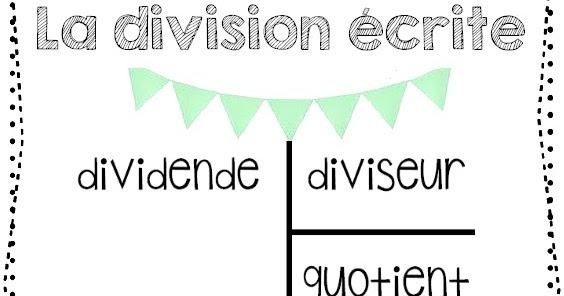 La classe de laura la division crite for Div p