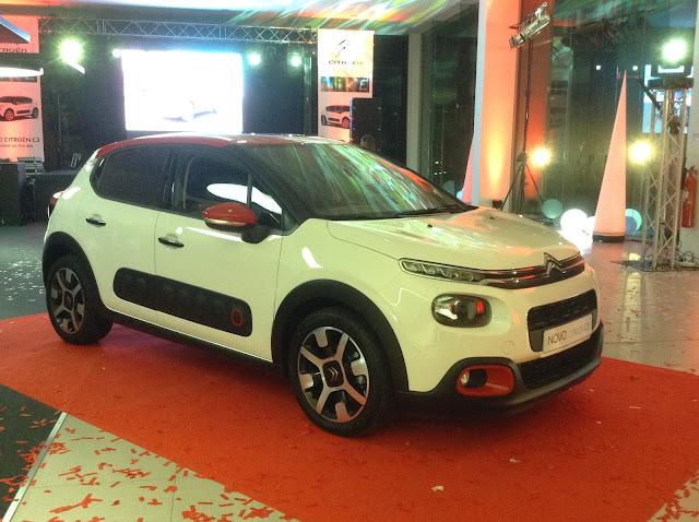 Estivemos no lançamento do novo Citroën C3