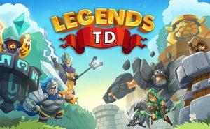 Legends TD None Shall Pass! MOD APK Unlimited Gems