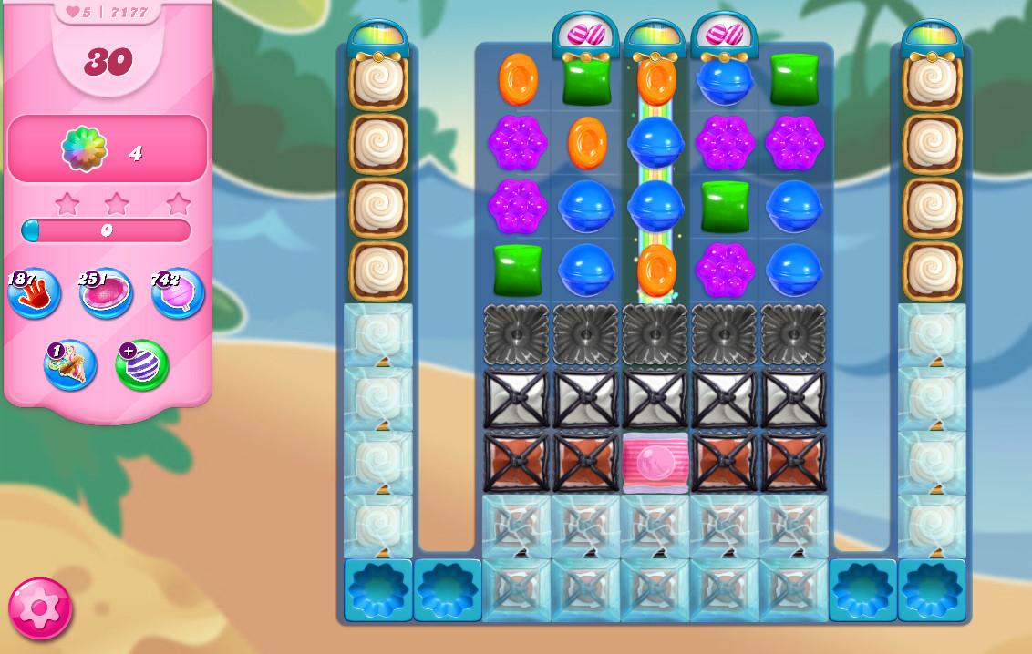 Candy Crush Saga level 7177