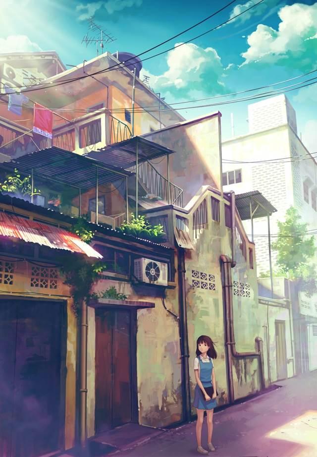 back alley girl manga