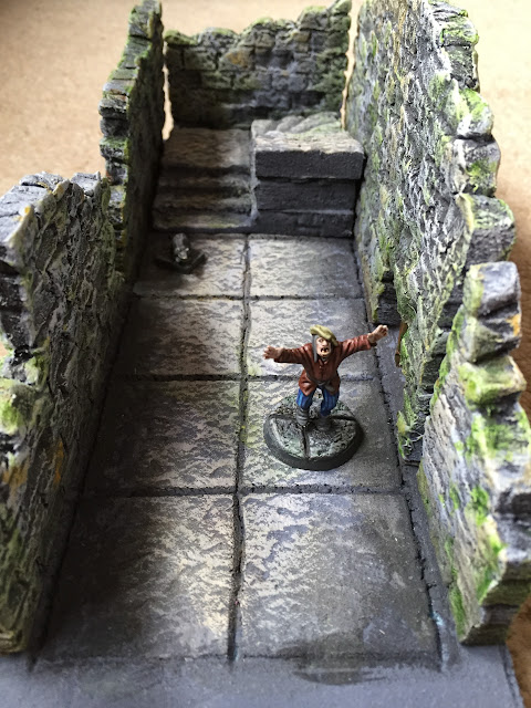 A rat chase through some new dungeon tiles