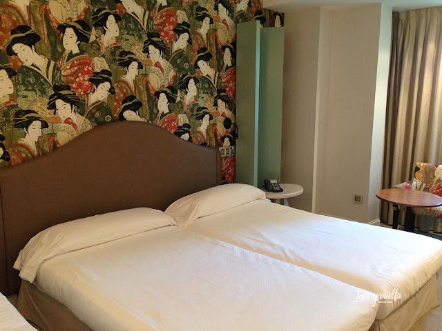 Nuestra habitación en el Hotel Santo Domingo de Madrid