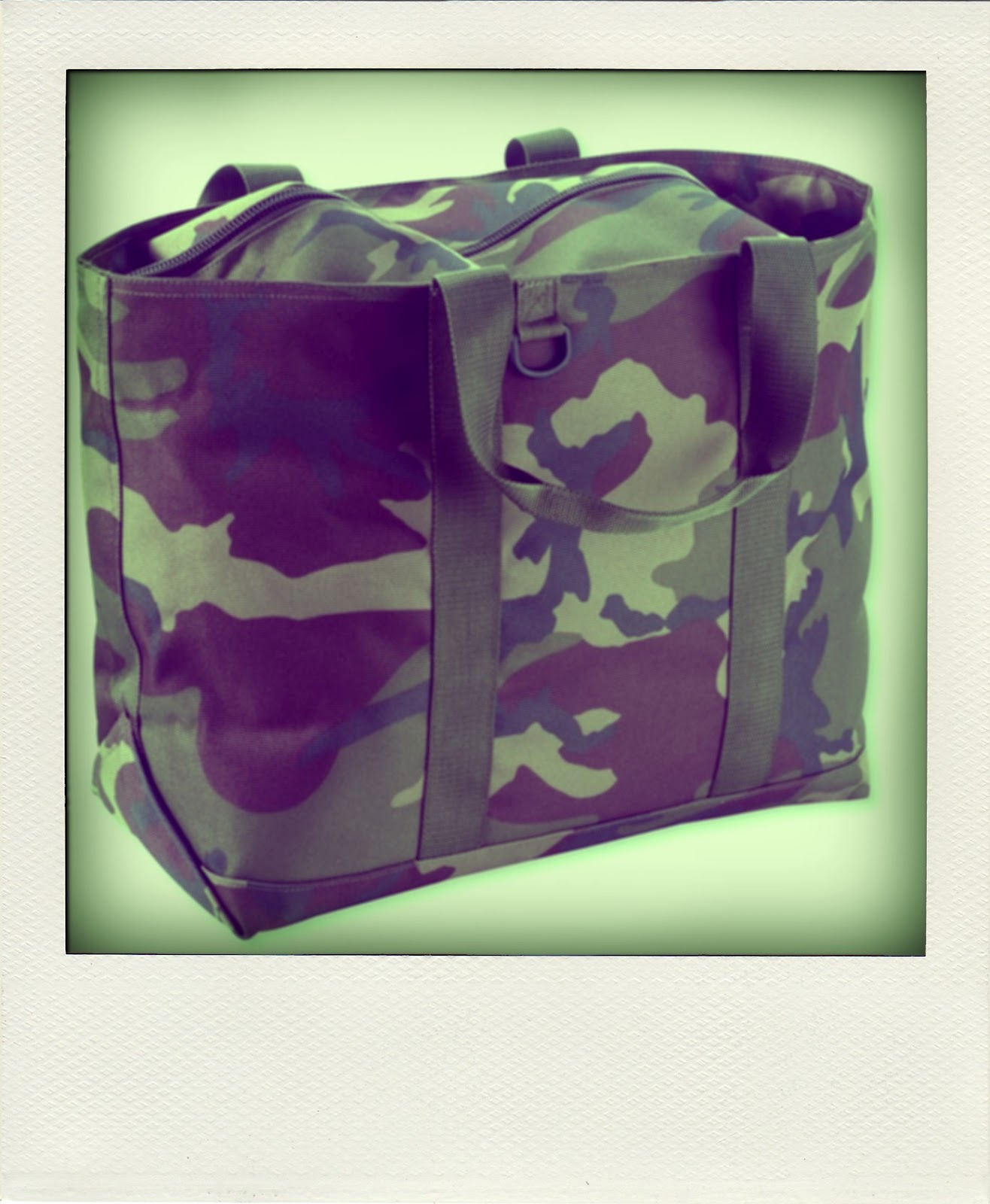 Butch Inside My Closet Ll Bean Camouflage Tote Bag