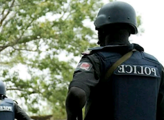 A Nigerian Police Public Relations Officer