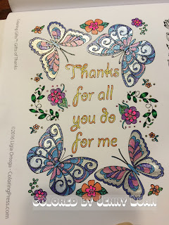 Coloring GiftsTM: Gifts of Thanks: A Gratitude-Themed Adult Coloring Book (Volume 1)