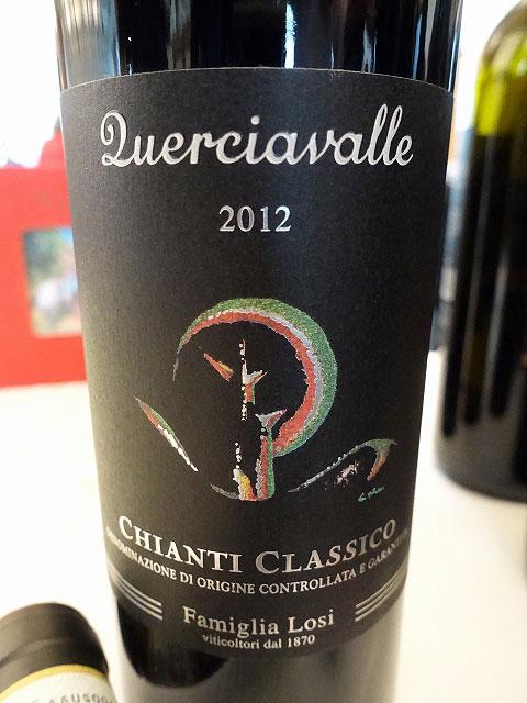 Losi Querciavalle Chianti Classico 2012 (89 pts)