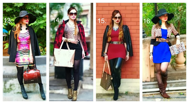 Outfit Posts on Feisty Fox Diaries for 2013