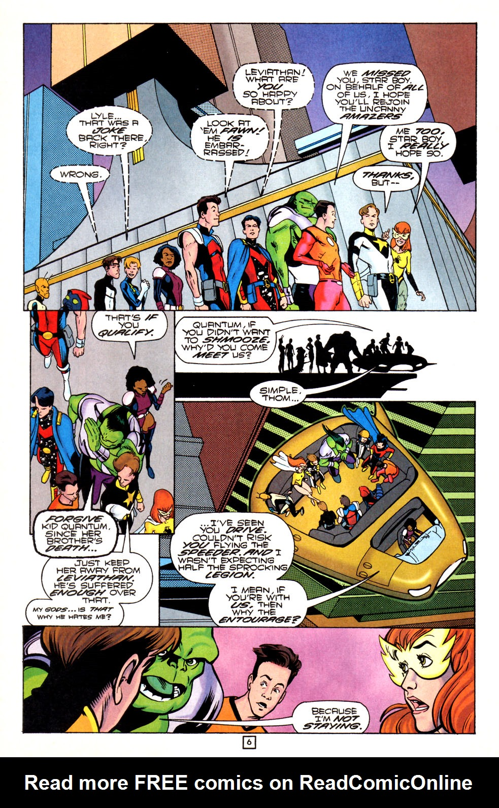 Legion of Super-Heroes (1989) 82 Page 6