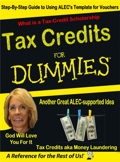 Image result for Four Things Betsy DeVos Doesn't Want You to Know about Education Tax Credits