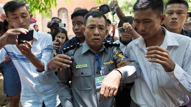 Authorities in Myanmar targets family of whistleblower officer in reprisal