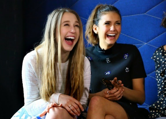 Taissa Farmiga and Nina Dobrev March 2015