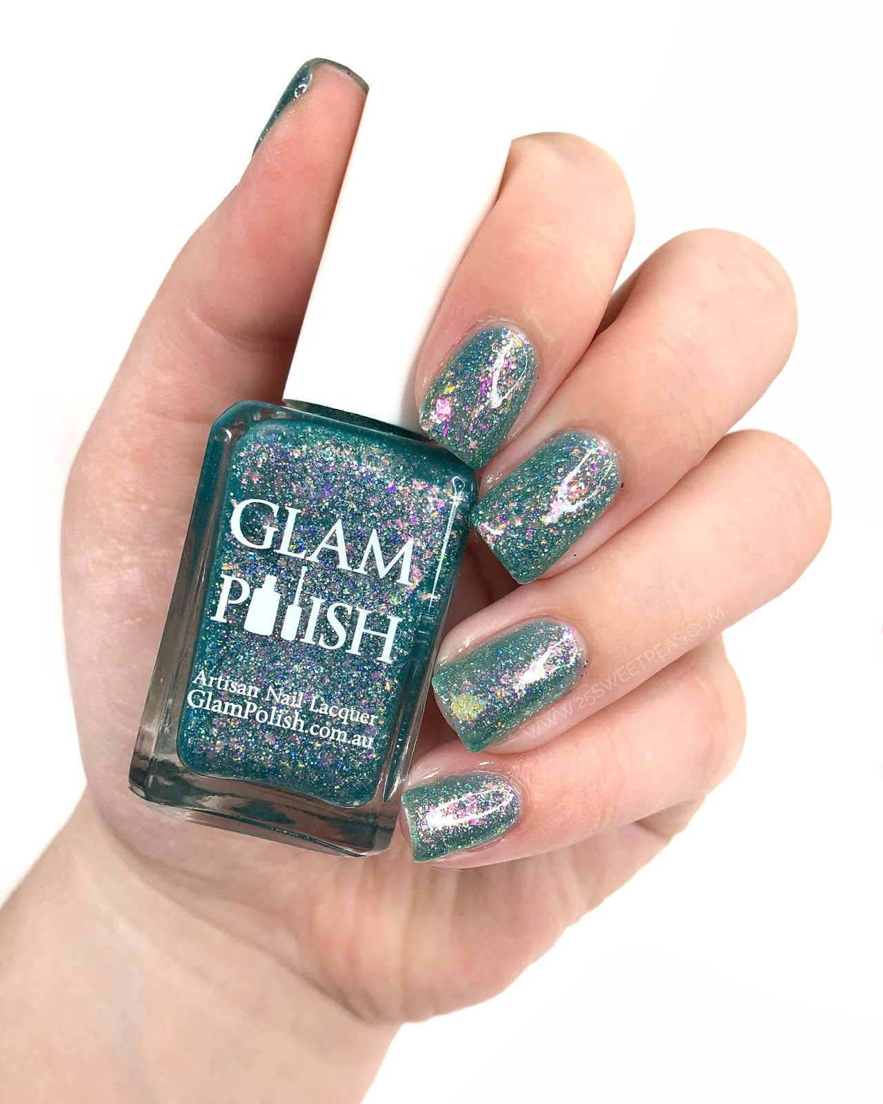 Glam Polish Vitamin Sea 25 Sweetpeas