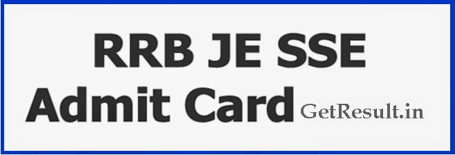 rrb je admit card 2014