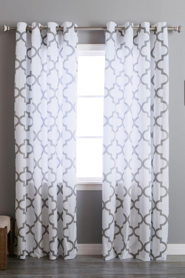Curtain Girl Girls Glass Detail Wall