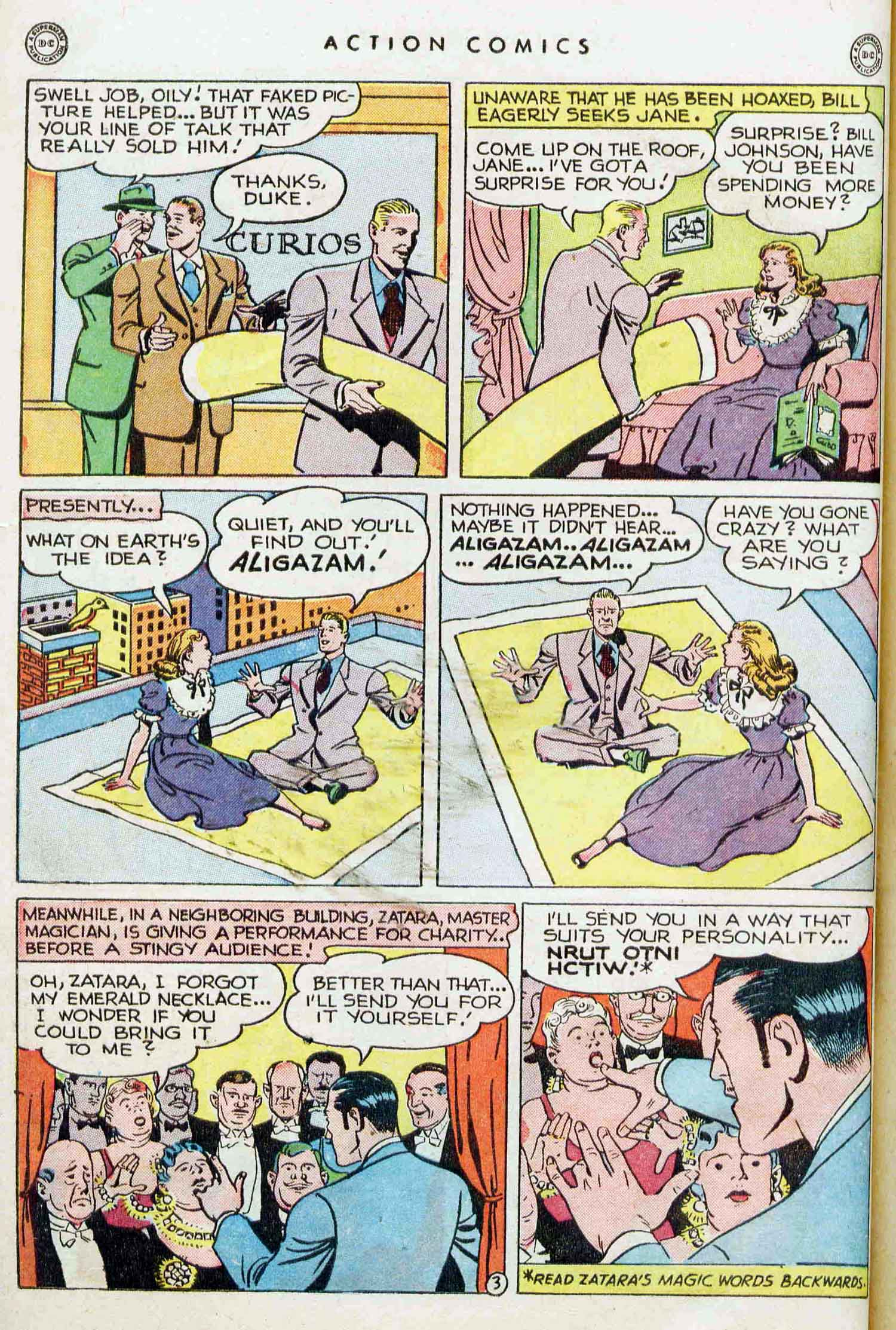 Read online Action Comics (1938) comic -  Issue #129 - 25