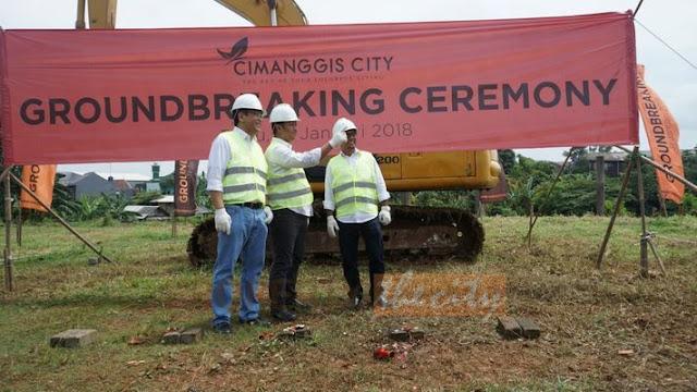 Groundbreaking Apartemen Cimanggis City