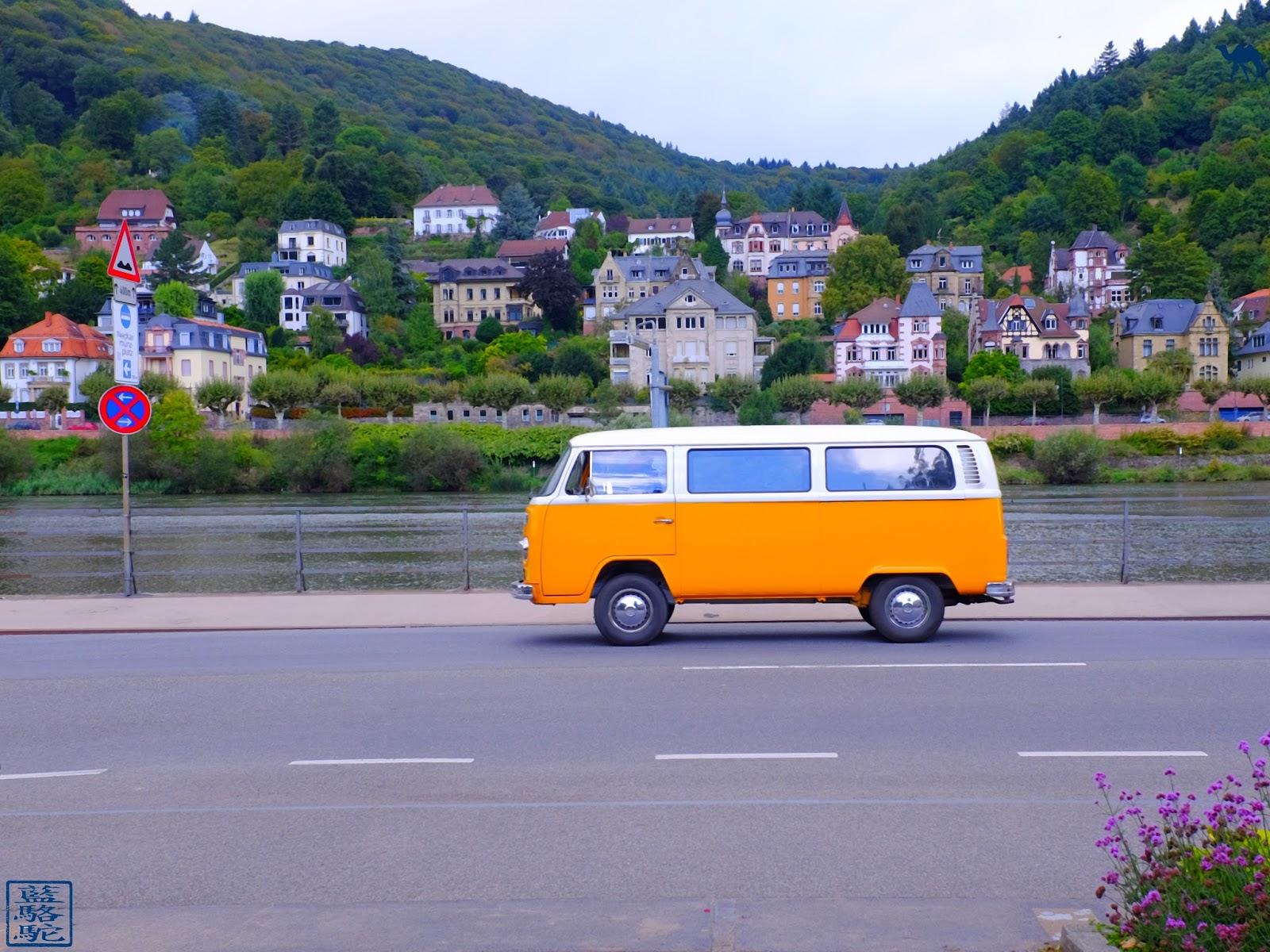 Le Chameau Bleu - Blog Voyage Heildeberg Allemagne -  Bord du Neckar