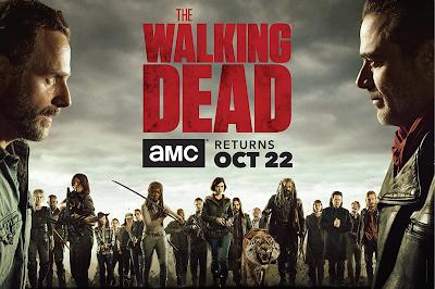 Poster The Walking Dead Rick y Negan