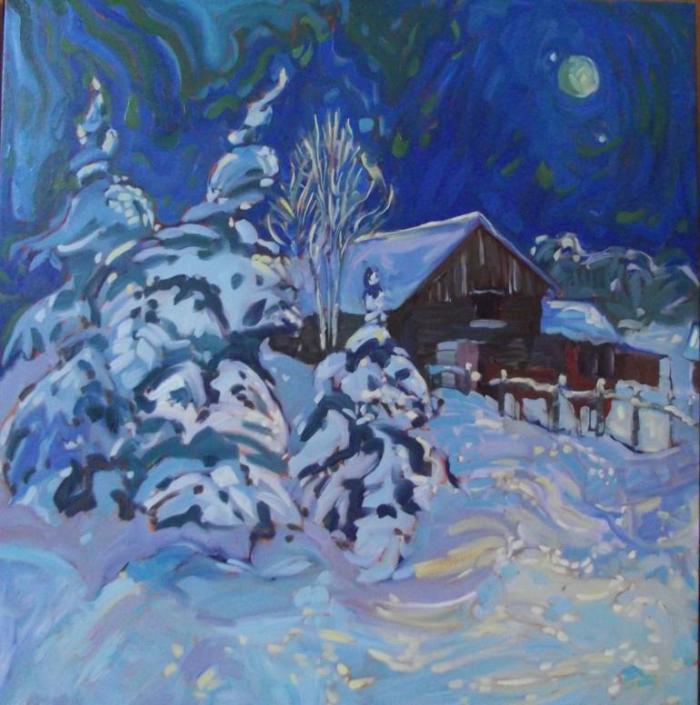 Левой рукой. Kaija Savinainen Mountain