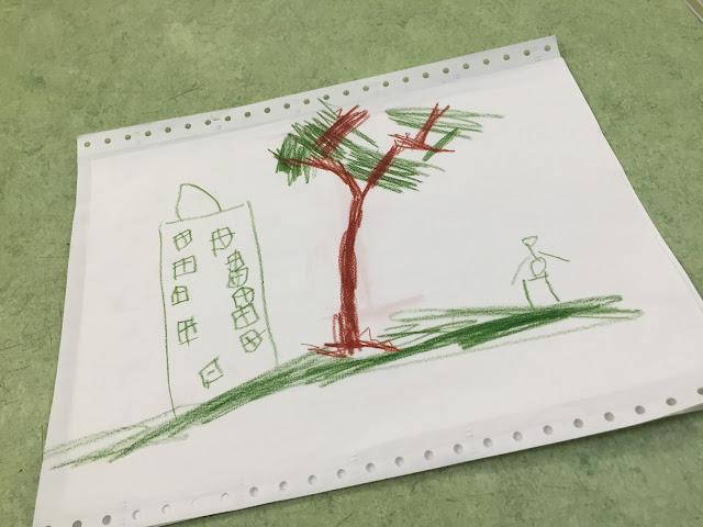 bild gemalt vom mini chef