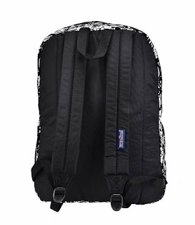 JanSport High Stakes Ransel - Hitam Putih
