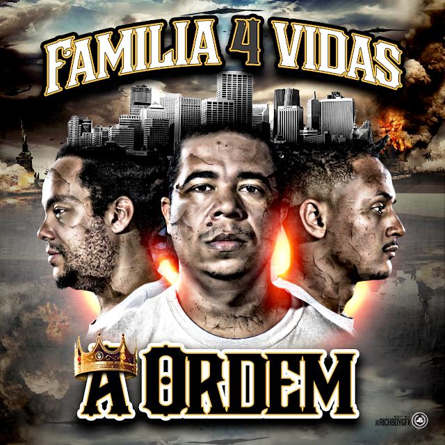 """Comemorando 10 anos de carreira, Familia 4 vidas lança seu quinto álbum, """"A Ordem"""""""