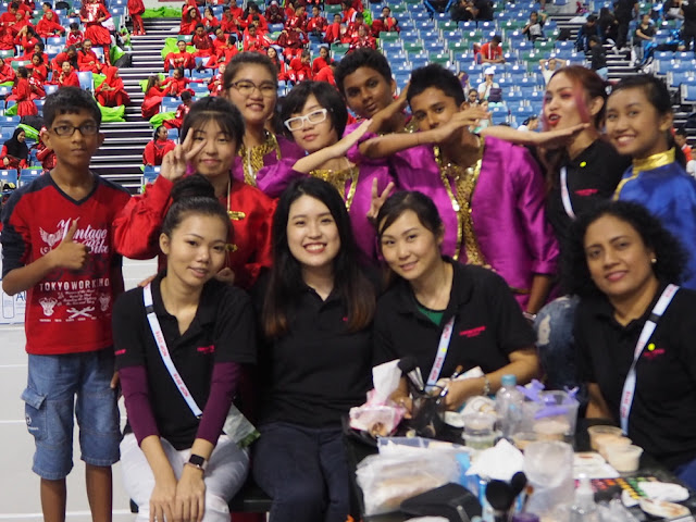 Makeup Artist Volunteer Experience at National Day Parade 2016