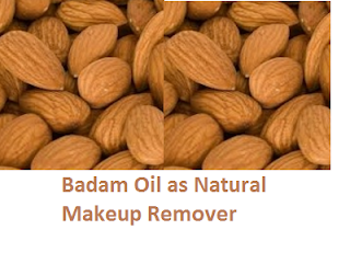 Almonds Health Benefits Badam Oil as Natural Makeup Remover