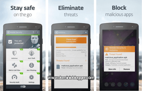 Eset Mobile Security y Antivirus gratis