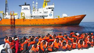 Les ONG verront l'Italie seulement en carte postale